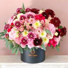 Organic Slow Flowers Delivery Milan Monza Como | Dahlias and Seasonal Flowers