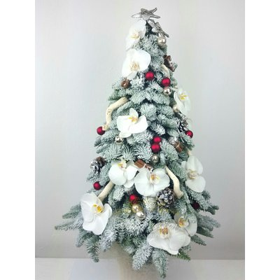 Luxury Christmas Red Tree