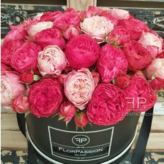 Luxury Garden Roses FlorPassion Box