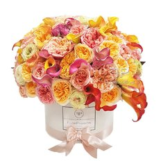 Luxury Floral Box | Best Local Florist in Milan Italy