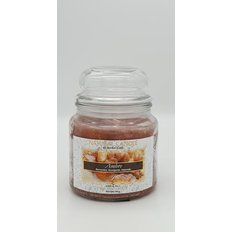 Natural Candle Jar, 100% Vegetable Wax, Amber