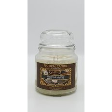 Natural Candle Jar, 100% Vegetable Wax, Shea Butter