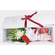 Orchids Gift Box | Flowers and Gifts Delivery Milan Italy