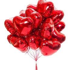 Palloncini Cuore Rosso Set Regalo