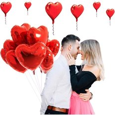 Palloncini Cuore San Valentino | Rose e Palloncini a Domicilio | FlorPassion Milano