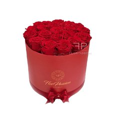 Preserved Roses | Send Flowers to Italy| Red Roses Box FlorPassion