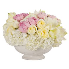 Luxury White Flowers | Hydrangea Peonies | Online Shop