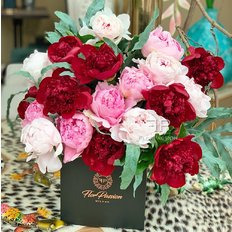 Peonies to Milan | FlorPassion Best Local Florist | Send Peony to Milan