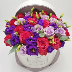 Pink Lavender Million Flowers Box