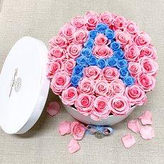 Preserved Roses Letter Box