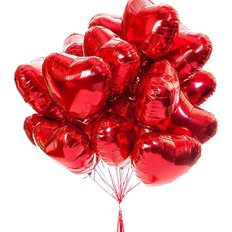 Red Heart Balloon Gift Set