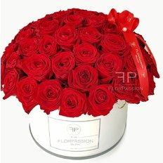Scatola Rose Rosse Million Flowers | Fiorista Monza e Milano