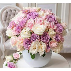 Nude Colors Roses | Flower Delivery Milan Italy | Sending Flowers