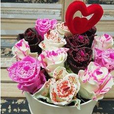 Rose Cioccolato FlorPassion Box