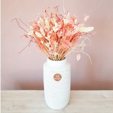 Dried Flower Bouquet Pink colors | FlorPassion Same Day Delivery Milan Monza Como