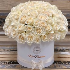 White Roses Dome | Million Roses | FlorPassion Milano