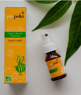 SPRAY BUCAL PROPOLIS SI MENTA- Propolia