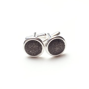 Gray Cufflinks