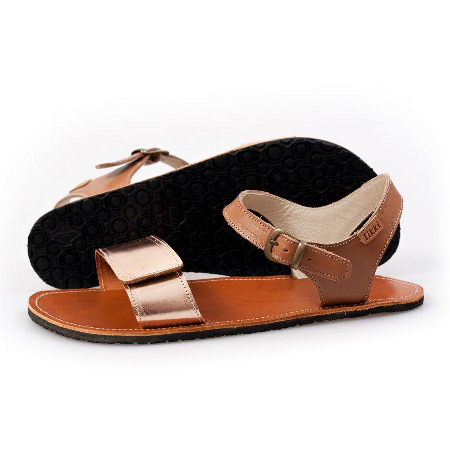 Adjustable Strap Sandals Nude Brown In Stock Tendencies Footbed 2 42 1