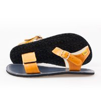 Adjustable strap sandals - Yellow & Navy - in stock