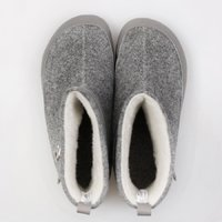 Adult wool boots NANOOK - Grey