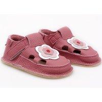 Barefoot kids sandals - Cherry
