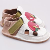 Barefoot kids sandals - Delicious apple