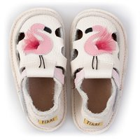 Barefoot kids sandals - Flamingo