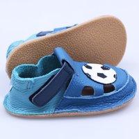 Barefoot kids sandals - Football
