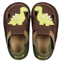 Barefoot kids sandals - Little dinosaur