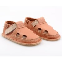 Barefoot kids sandals - Classic Salmon