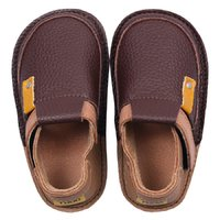 Barefoot kids shoes - Classic Coffee