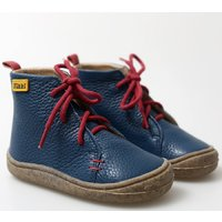 Barefoot leather boots - Beetle - Blue