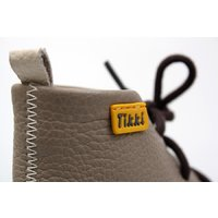Barefoot leather boots - Beetle - Crem