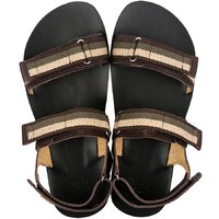 Barefoot men's sandals - MOSS - Shadow
