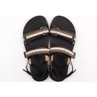 Barefoot men's sandals - MOSS - Stripes