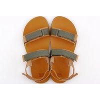 Barefoot men's sandals - MOSS - Yellow