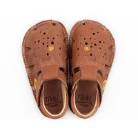 Barefoot sandals - Aranya Chocolate 19-23 EU