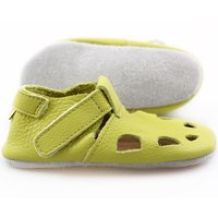 'Chubby' Chrome Free soft shoes - Lime