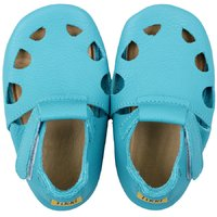 'Chubby' Chrome Free soft shoes - Turquoise
