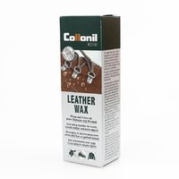 Active leather wax