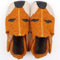Felted wool shoes - Ziggy Fox 19-23EU