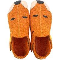 Felted wool shoes- Ziggy Fox 36-40 EU - on demand