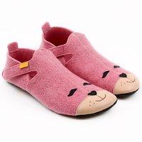 Felted wool shoes- Ziggy Kitty 36-40 EU