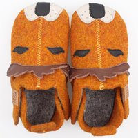 Felted wool shoes- Ziggy Lion 24-32EU