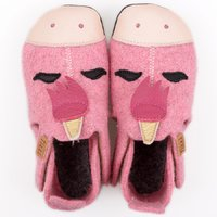 Felted wool shoes- Ziggy Unicorn 24-32EU
