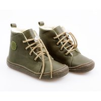 Ghete Barefoot - Beetle Green 24-29 EU