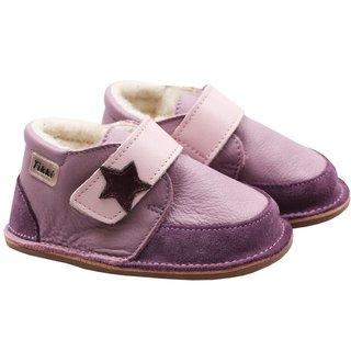 Ghete Barefoot cu lână - Purple Rock