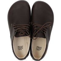 Minimalist wide adult shoes ROOTS - Espresso