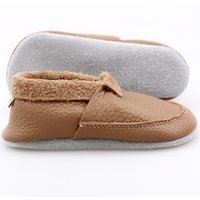 Multicolor soft shoes - Cappuccino
